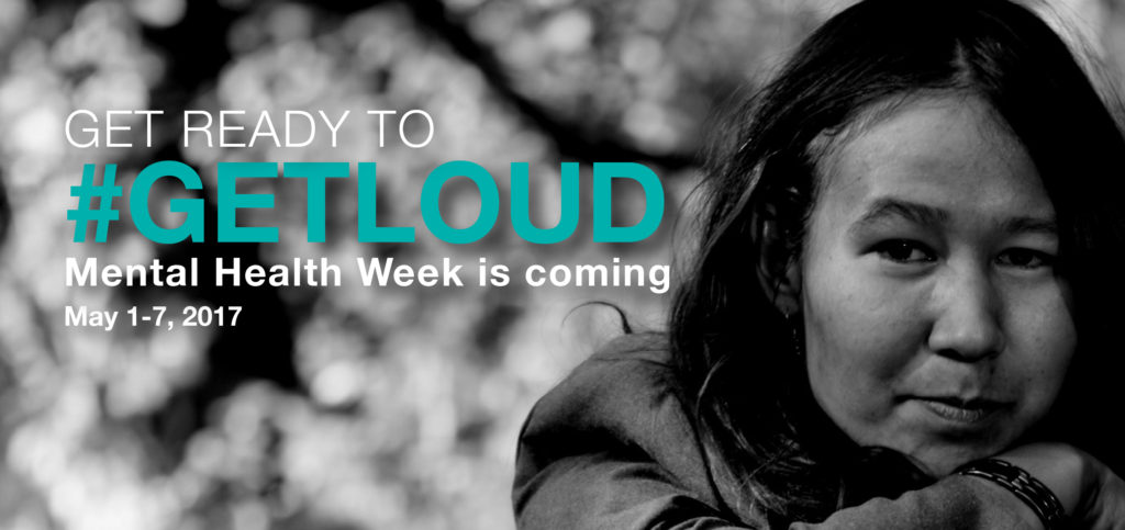Mental Health Week, May 1 – 6, 2017