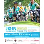 Ride Don't Hide June 25, 2017