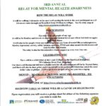 Relay for Mental Health Awareness, October 1, 2017