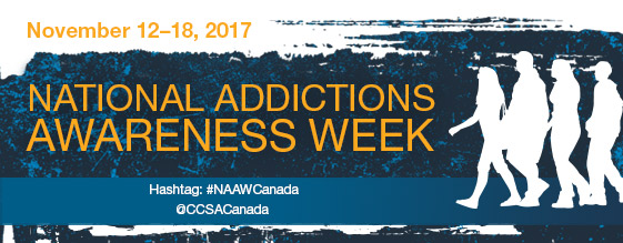 Image result for NAtional Addictions awareness week 2017
