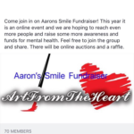 Aaron's Smile Online Fundraiser – Art from the Heart