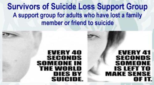suicide survivors support group near me