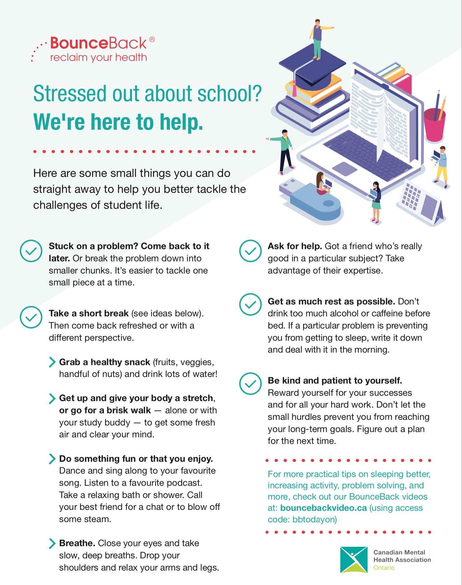 Back to School Mental Health Tips | CMHA Brant Haldimand Norfolk