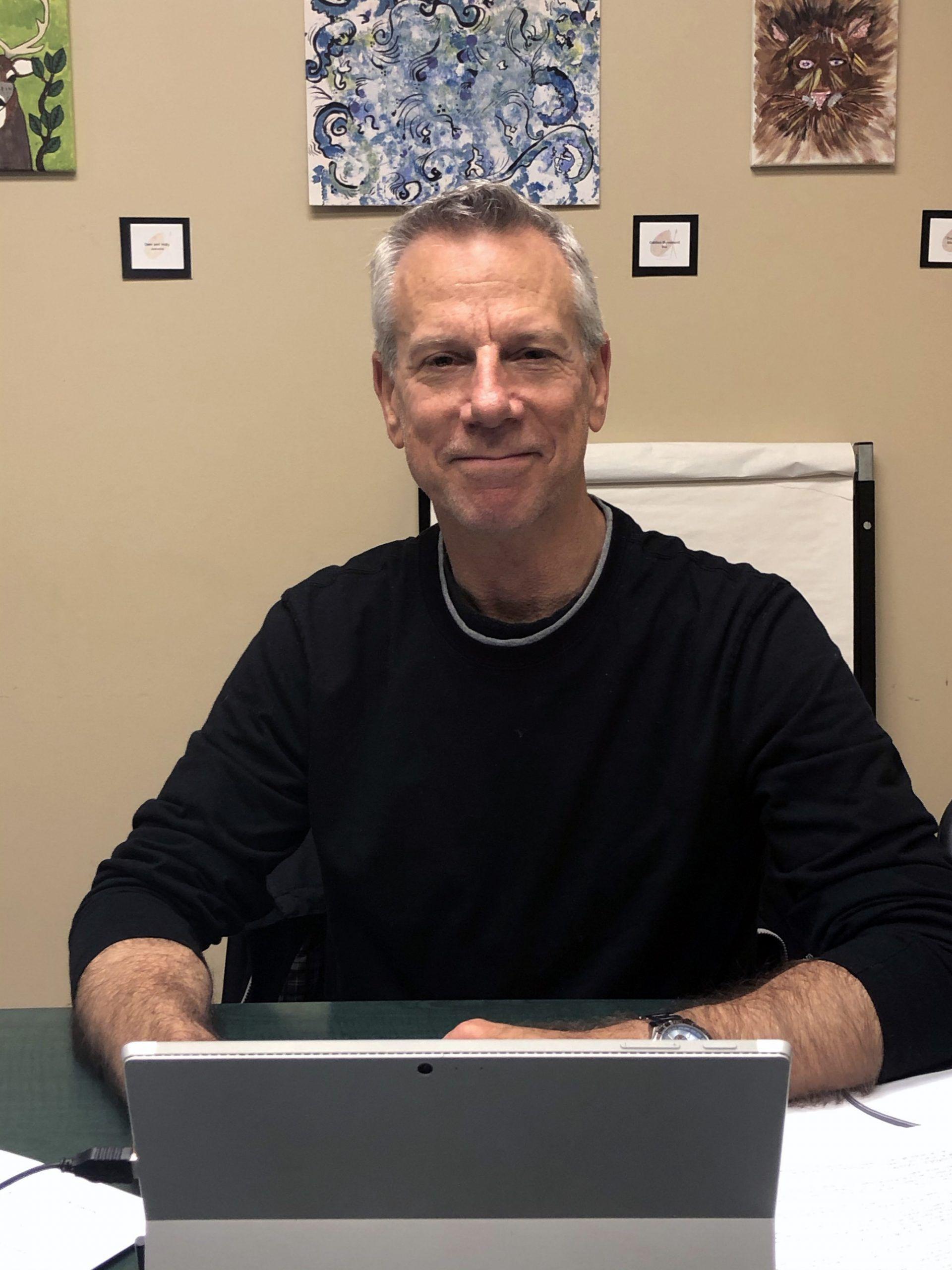 Shown here is Mike Benin, Executive Director CMHA Brant Haldimand Norfolk Branch