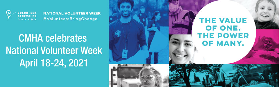 National Volunteer Week, April 18 – 24
